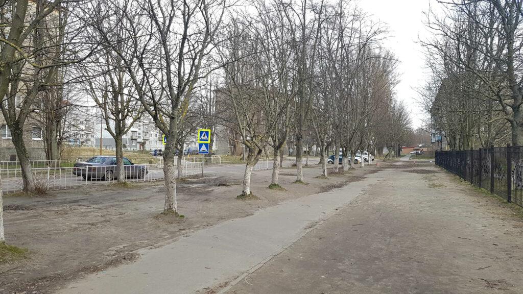 Ulica Uszakowa Bałtijsk, Federacja Rosyjska