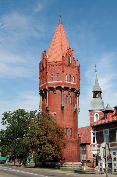 Wieża ciśnień w Malborku