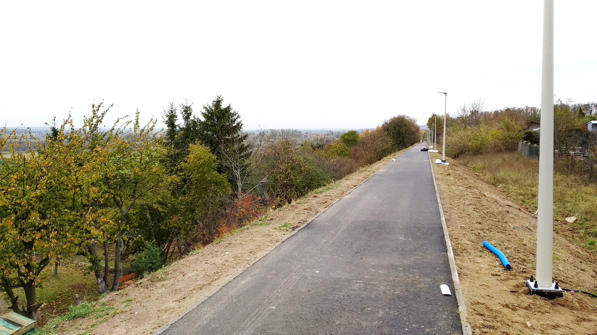 Miasto Kwidzyn: droga rowerowa na szlaku byłej wąskotorówki już prawie gotowa