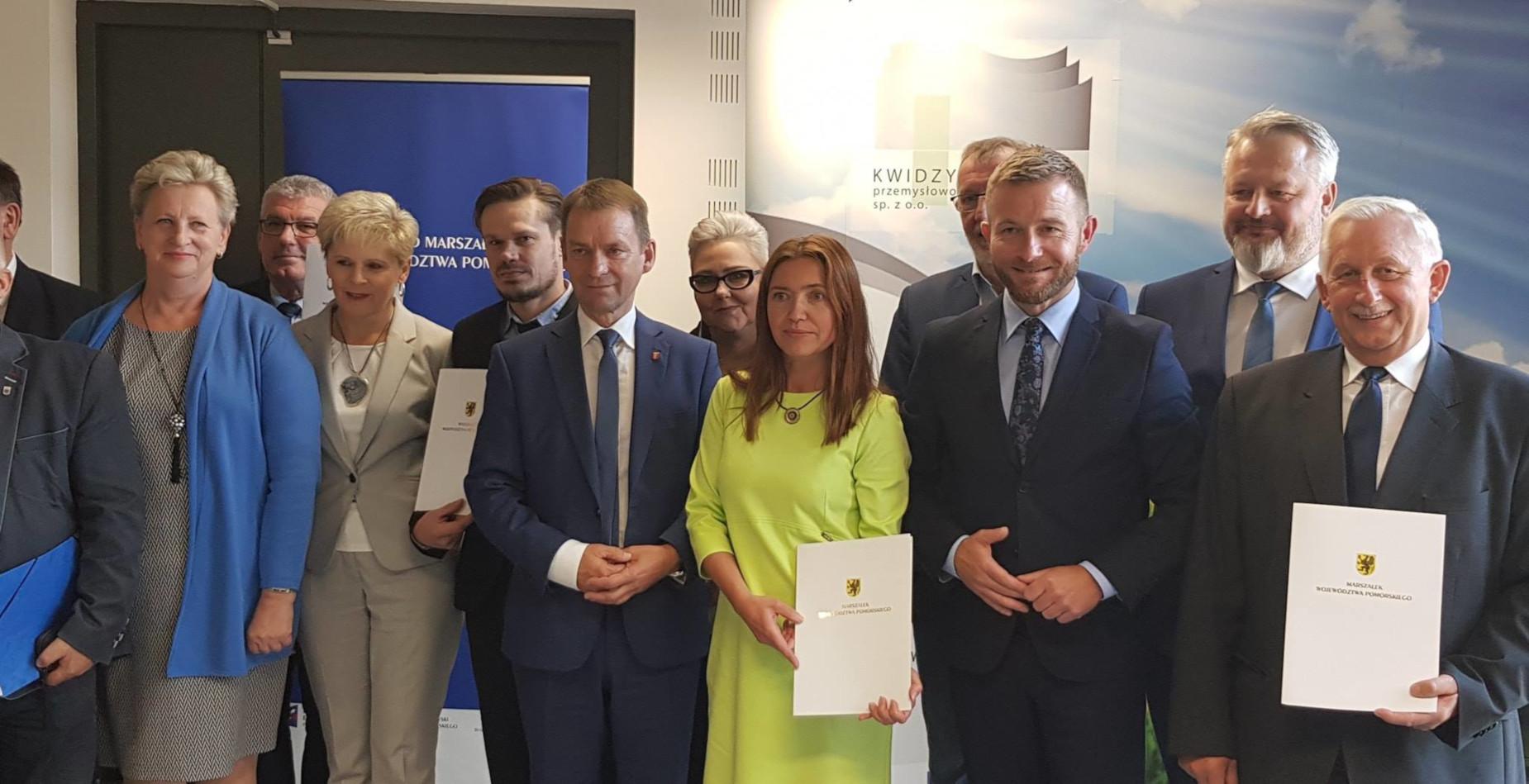 Po ziemi słupskiej czas na Powiśle. Kolejne umowy na dofinansowanie produkcji ekologicznej energii podpisane