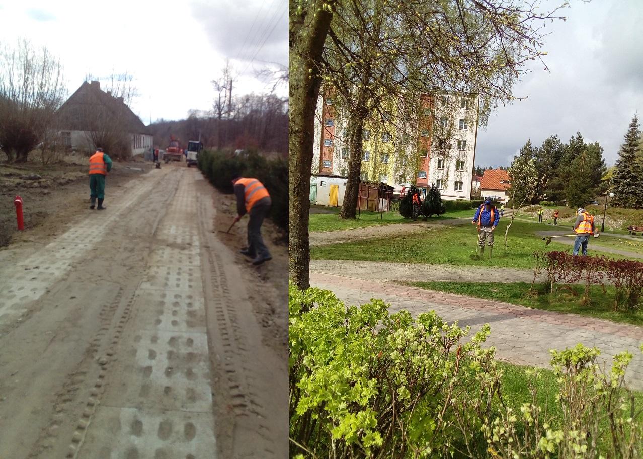 """Zagospodarowanie terenu, remonty, naprawy [Spółdzielnia Socjalna """"Razem""""]"""