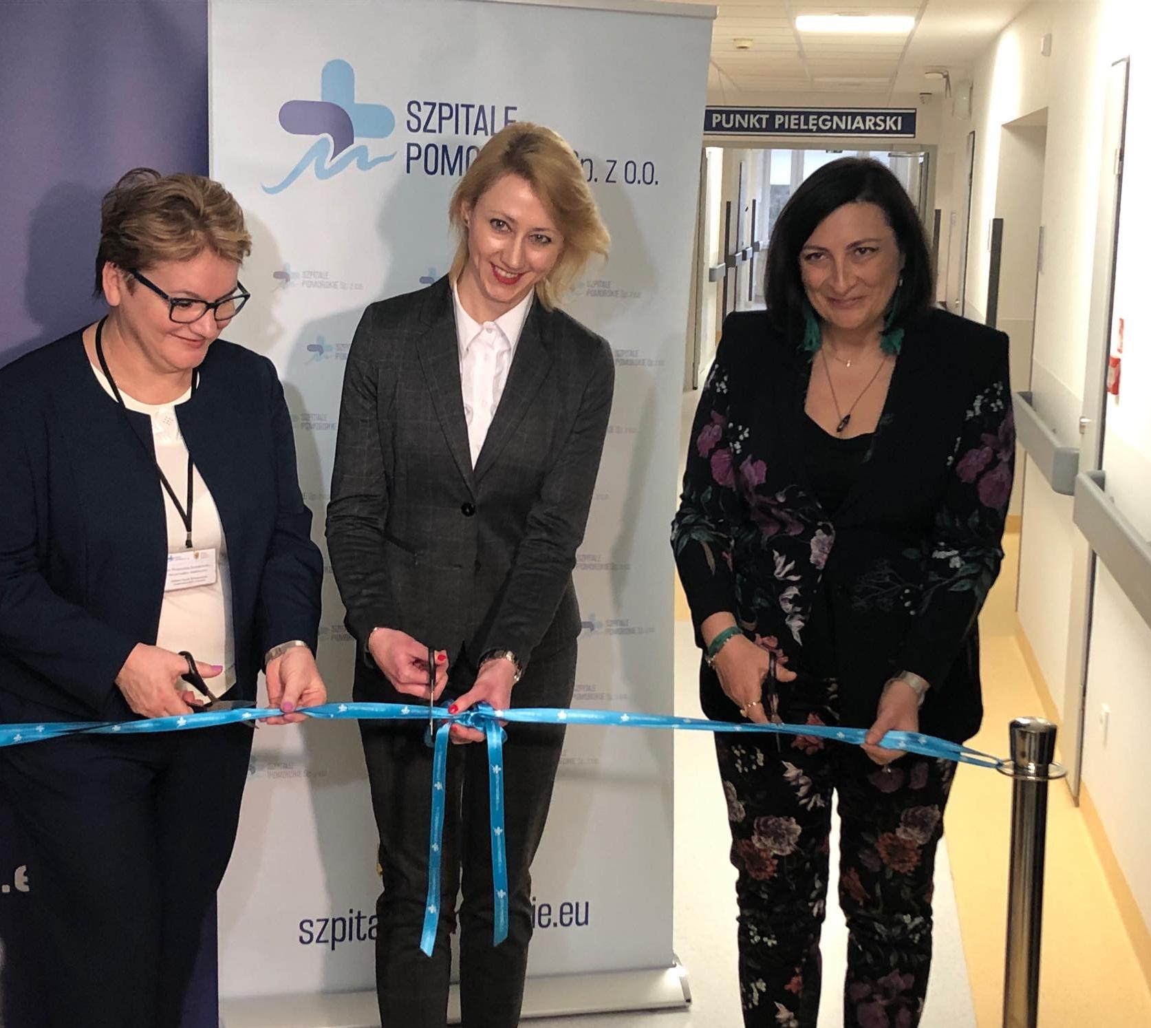 Interna i urologia w wejherowskim szpitalu po remoncie. Co zmieniło się za ponad 2 mln zł?
