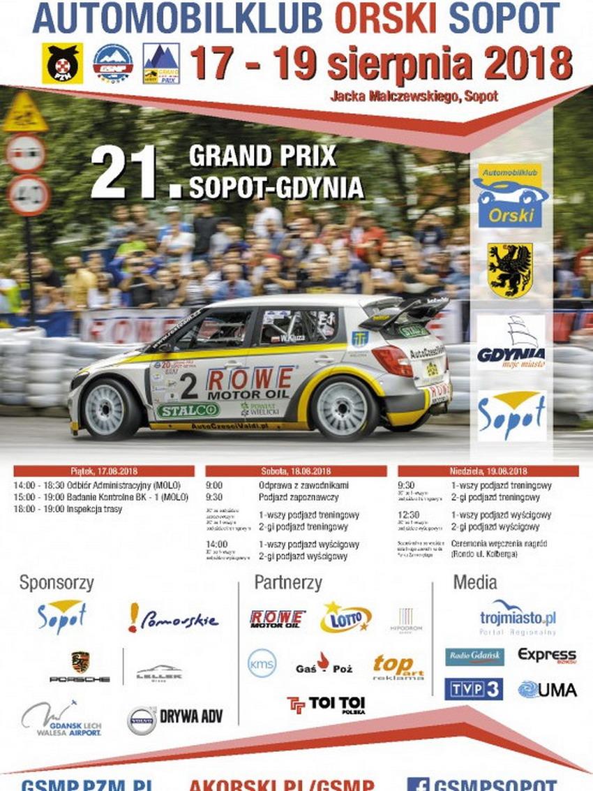 Górskie Samochodowe Mistrzostwa Polski_plakat