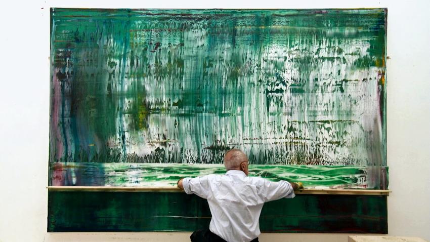 Gerhard Richter – najsławniejszy i najdroższy żyjący malarz. Jak wycieraczką  stworzyć dzieła warte miliony euro?
