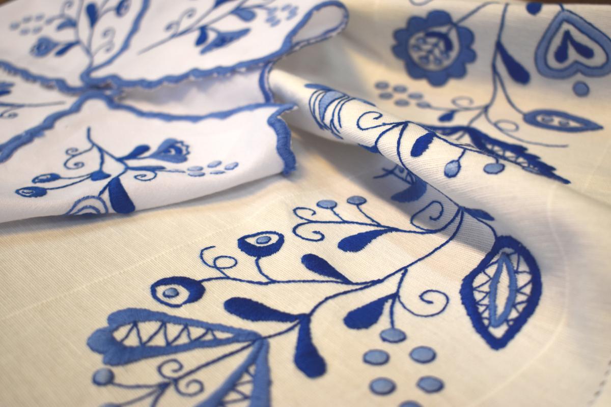 Zobacz niezwykłe hafty kaszubskie. Premierowe pokazy nowej teki haftu szkoły gdańskiej