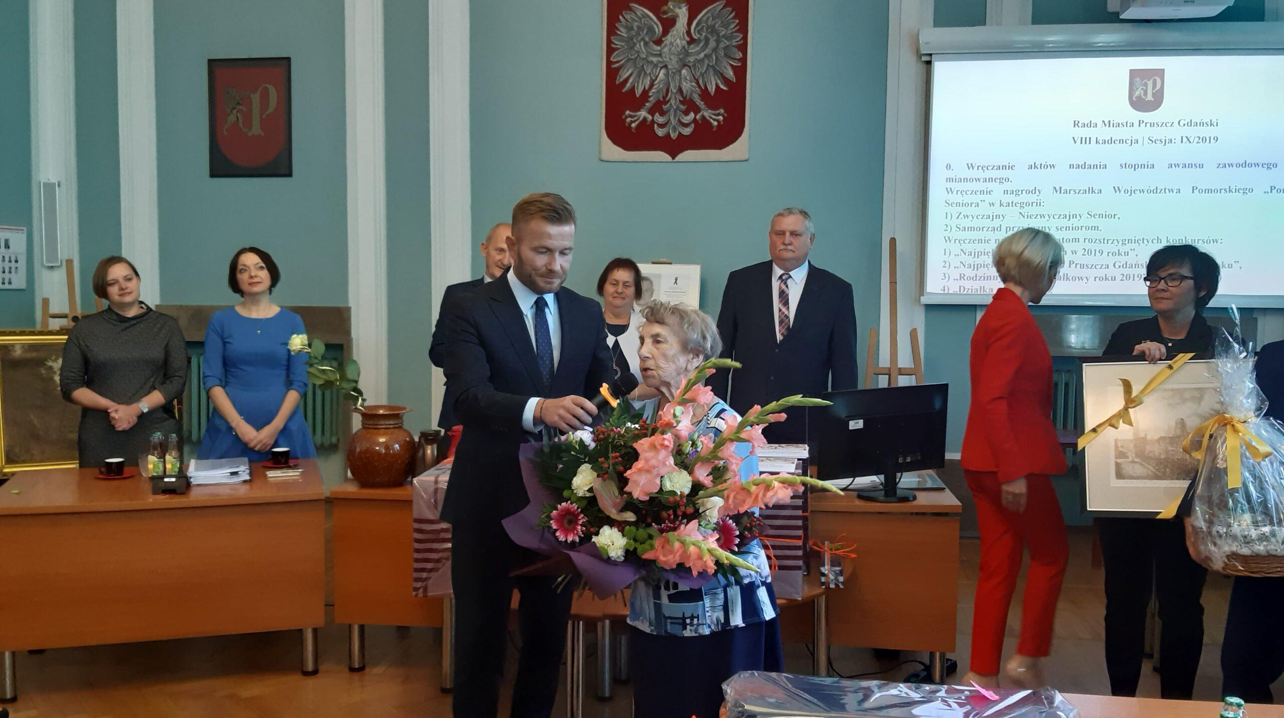 powiat gdański – wręczenie nagród w kategorii Zwyczajny – Niezwyczajny Senior oraz Samorząd przyjazny Seniorom
