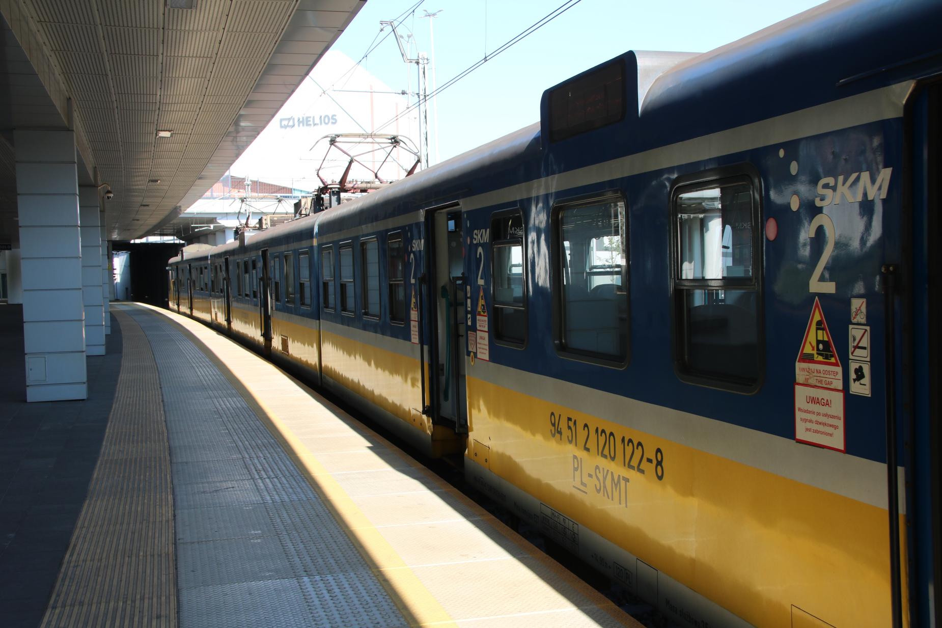 """Prawie 50 dodatkowych pociągów SKM w ten weekend. SKM: """"Spodziewamy się zwiększonego ruchu pasażerów"""""""