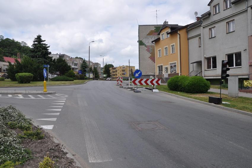Uwaga! Utrudnienia na drodze wojewódzkiej w Dzierzgoniu. Rozpoczynają się badania archeologiczne