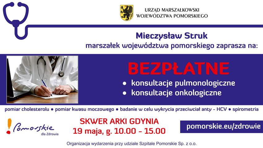 Pomorskie dla Zdrowia w Gdyni_baner