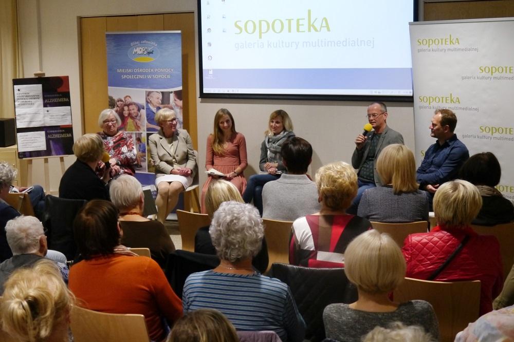 O Alzheimerze z poetą i ekspertami