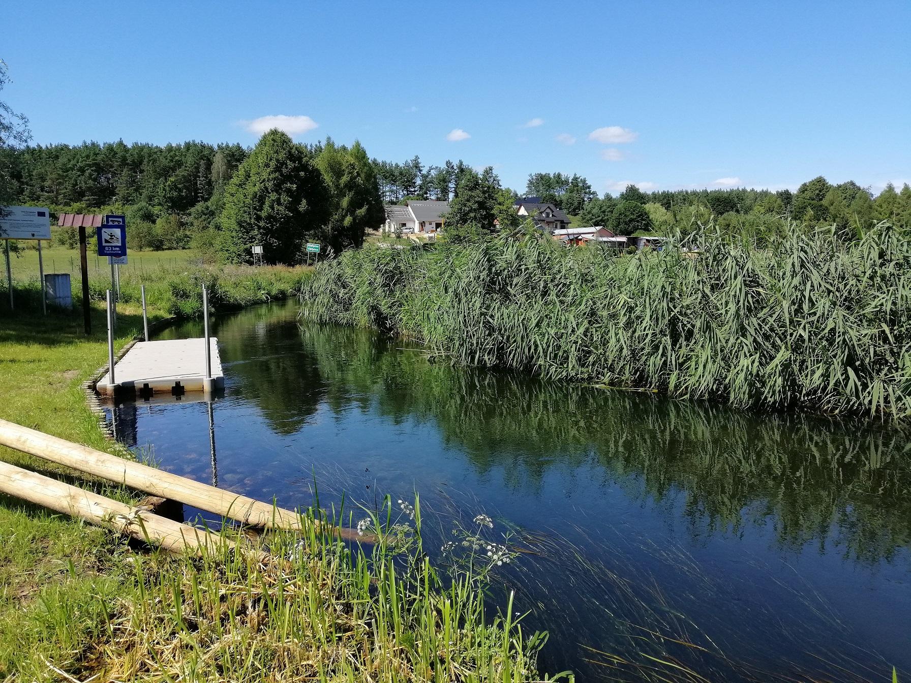 Przystań Trątkownica – nowe miejsca na rzece Raduni