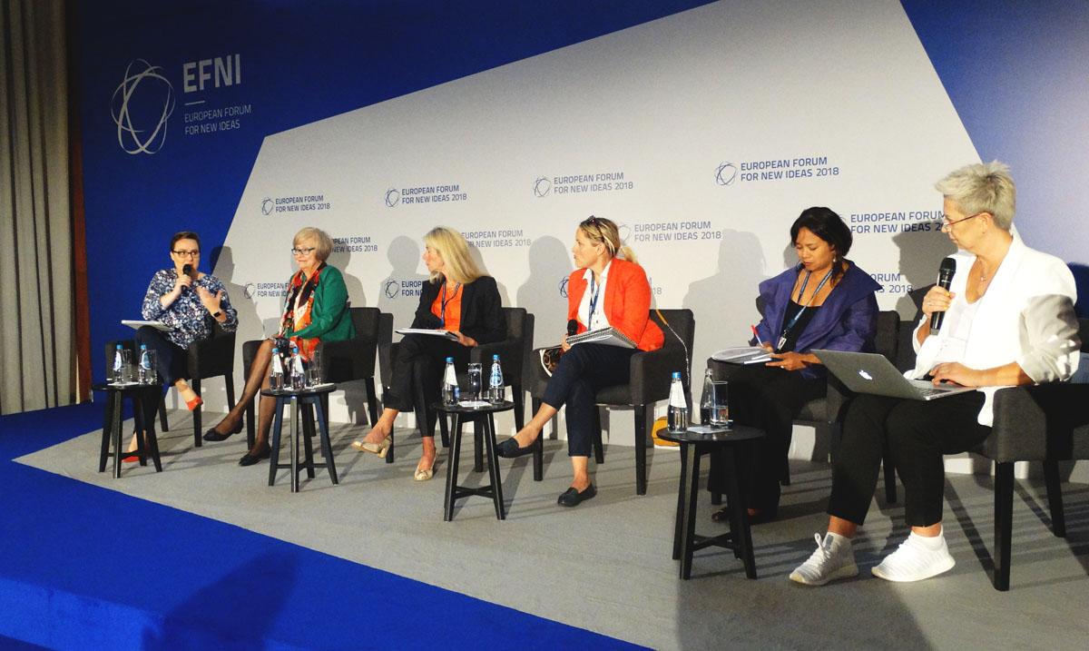 Debata: Kobiety przyszłością gospodarki światowej – innowacje, różnorodność, przywództwo