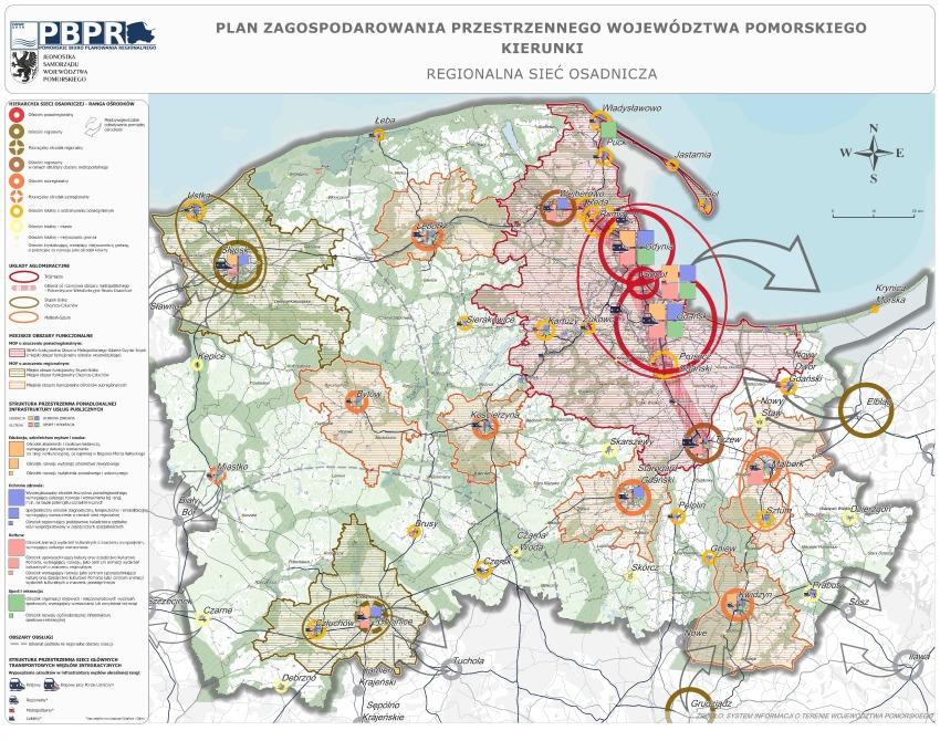 Regionalna sieć osadnicza