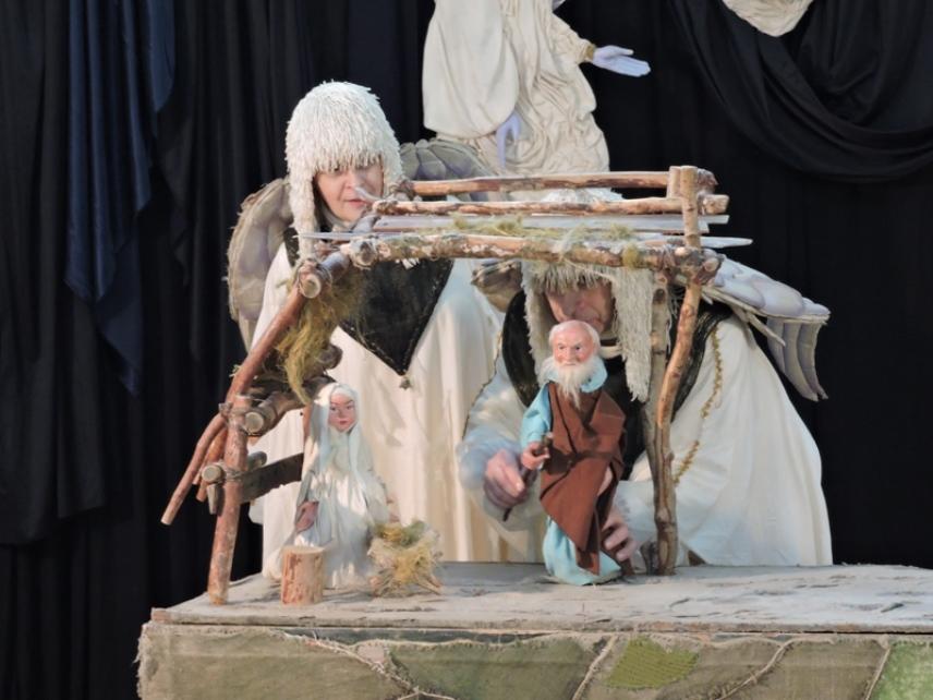 O tym, jak Jezus Chrystus urodził się w Betlejem. Biblijna opowieść na kwidzyńskiej Scenie Lalkowej