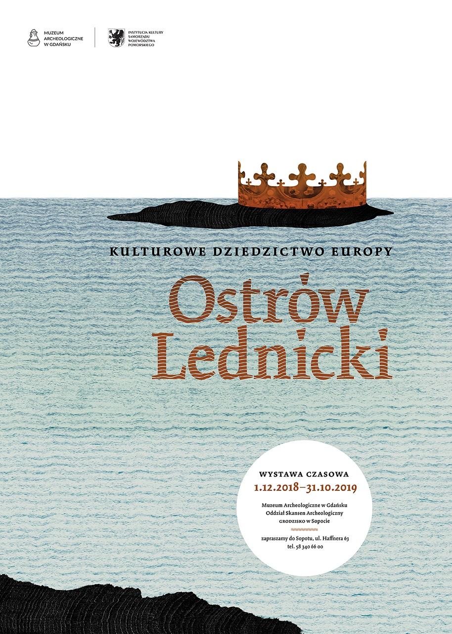 Ostrów Lednicki - plakat