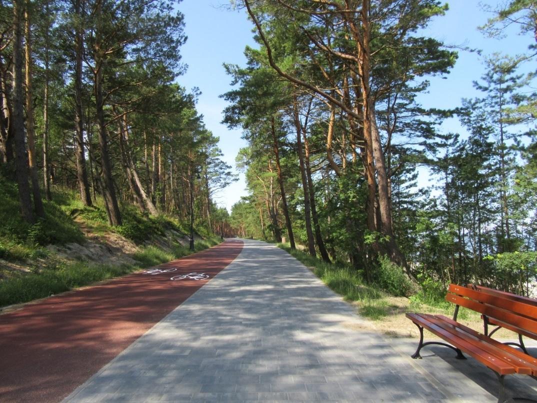 Krynica  Morska – trasa rowerowa i Promenada Nadmorska gotowa