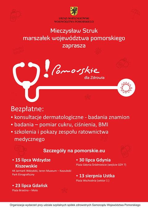 Pomorskie bez czerniaka_plakat