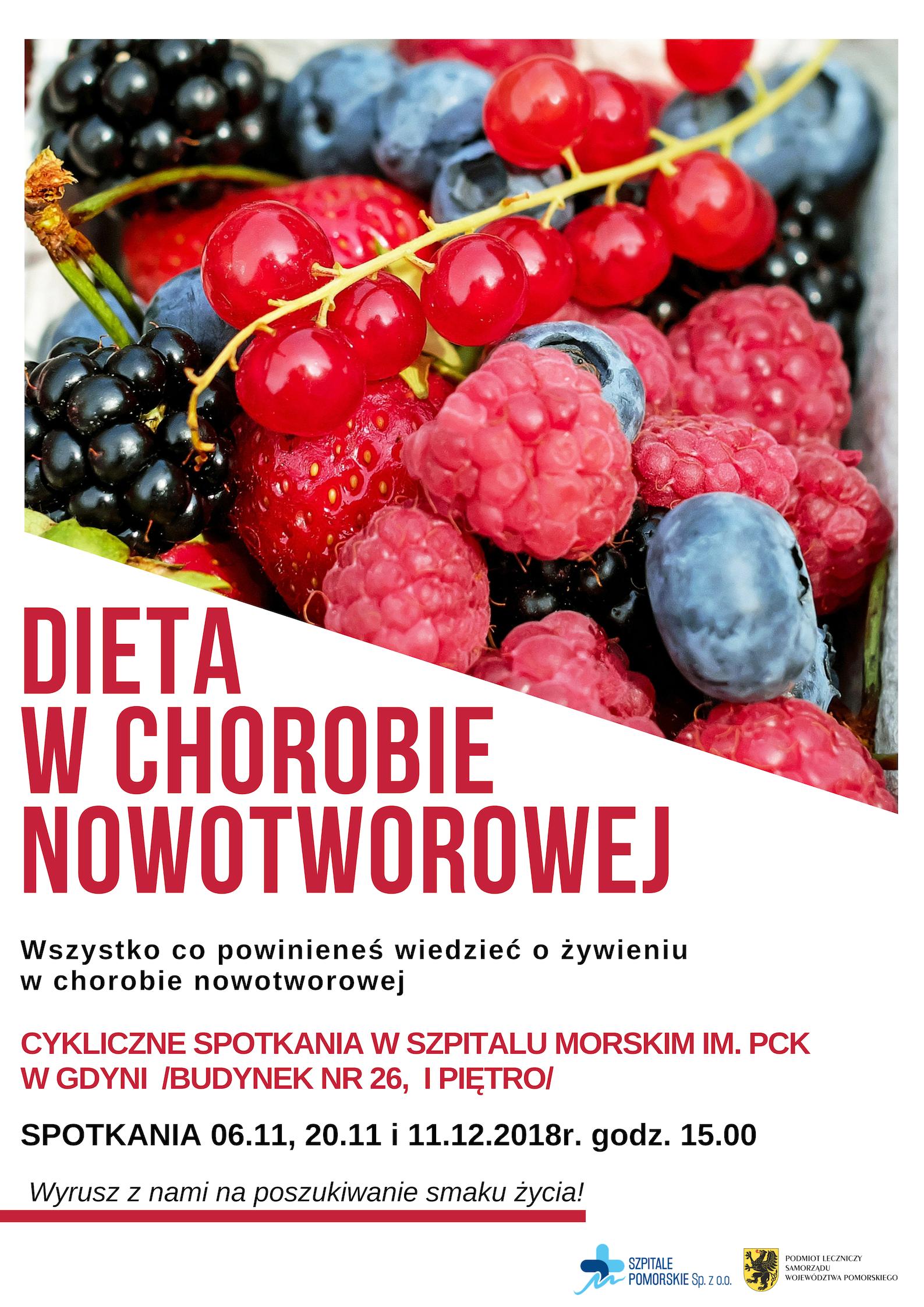 Dieta w chorobie nowotworowej_plakat