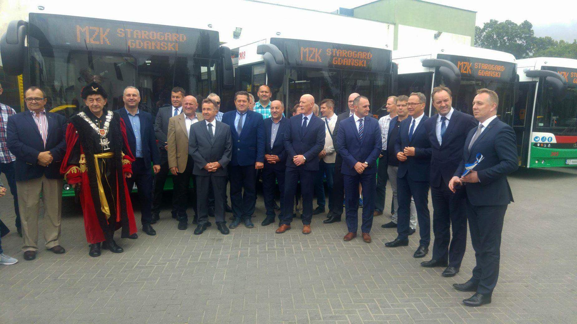 To zupełnie nowa jakość na ulicach Starogardu Gdańskiego. 11 polskich autobusów Autosan już od soboty będzie wozić pasażerów