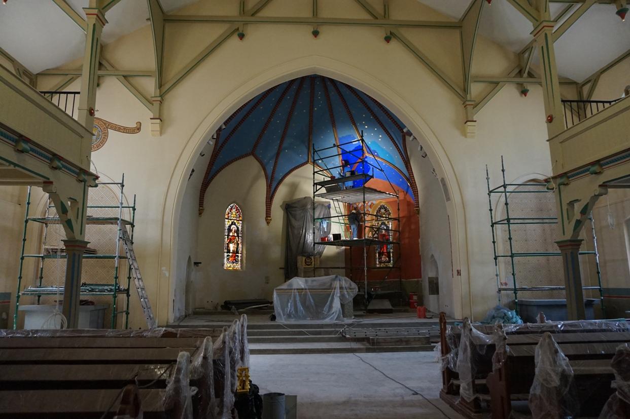 Remont kościoła Gwiazda Morza w Sopocie