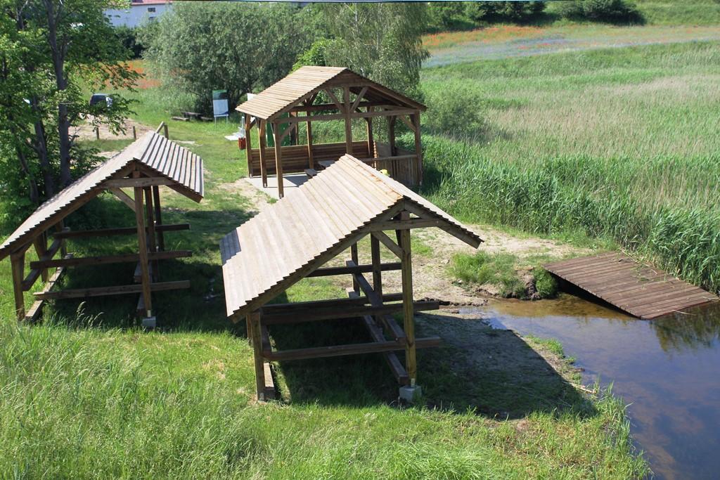 Nowe przystanie kajakowe na szlaku rzeki Brdy