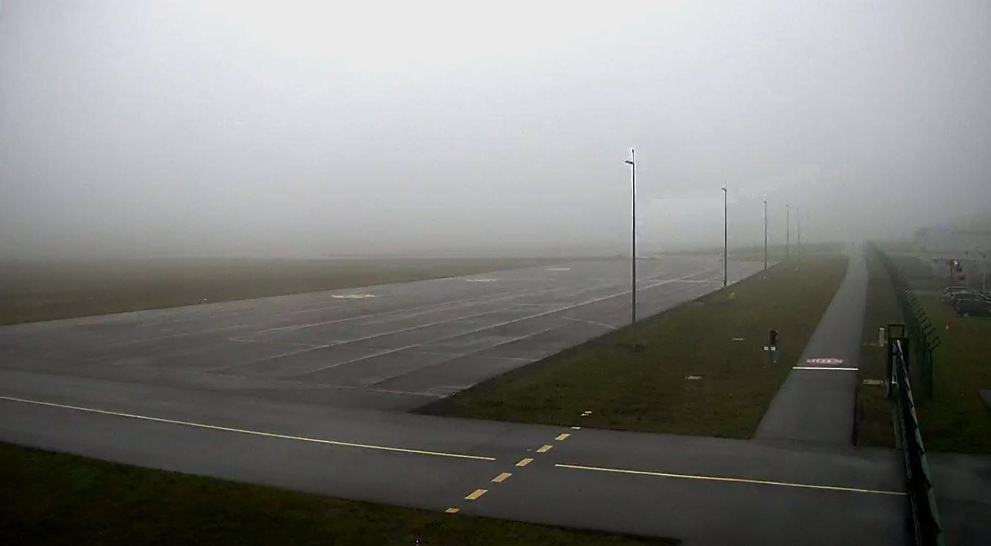 Mgła na gdańskim lotnisku nie jest już problemem. Tylko sześć odwołanych lotów w 2017 roku