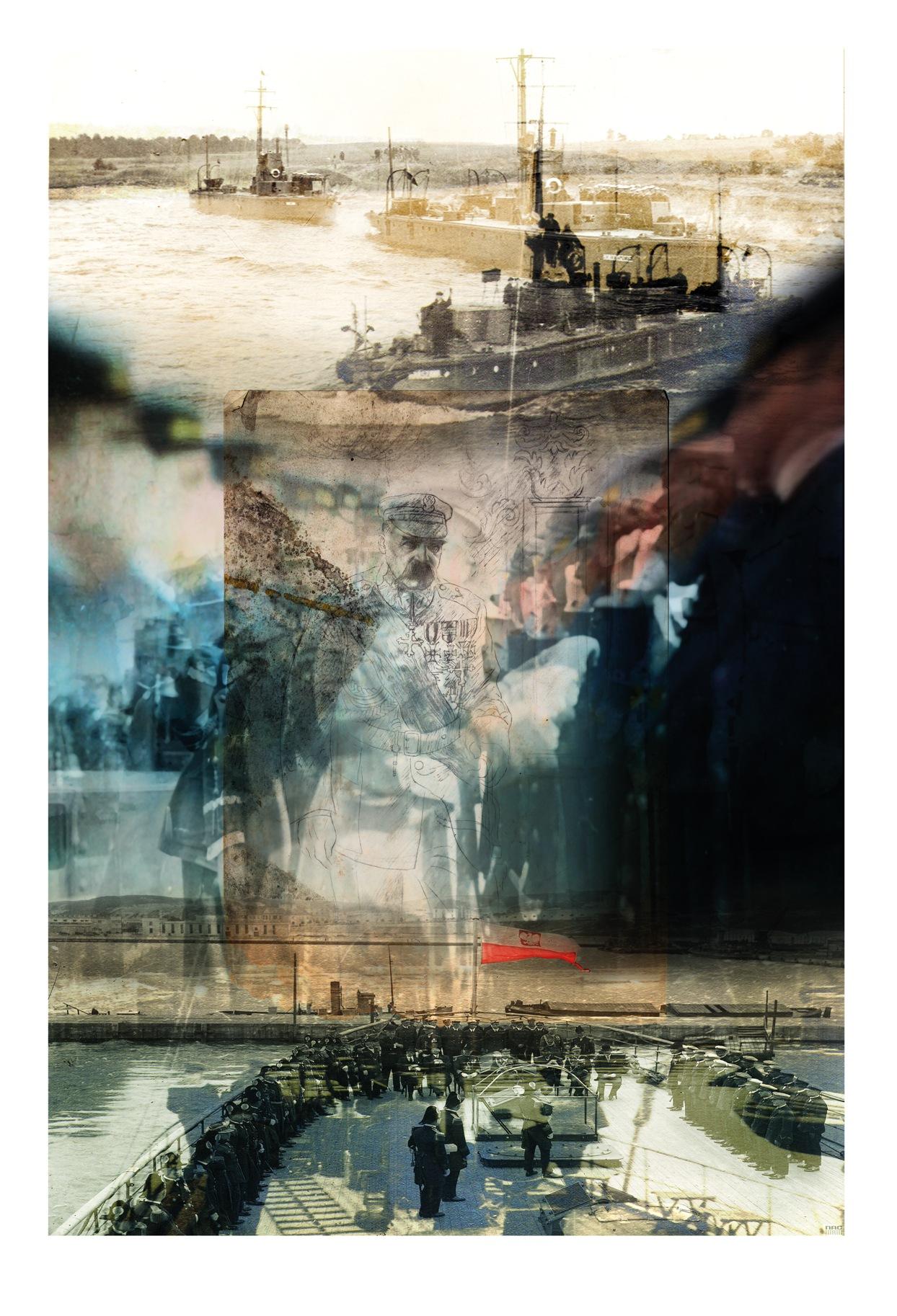 """Na przedwojennych grafikach pojawiły się kolory. Zobacz odnowione """"Teki Józefa Piłsudskiego"""""""