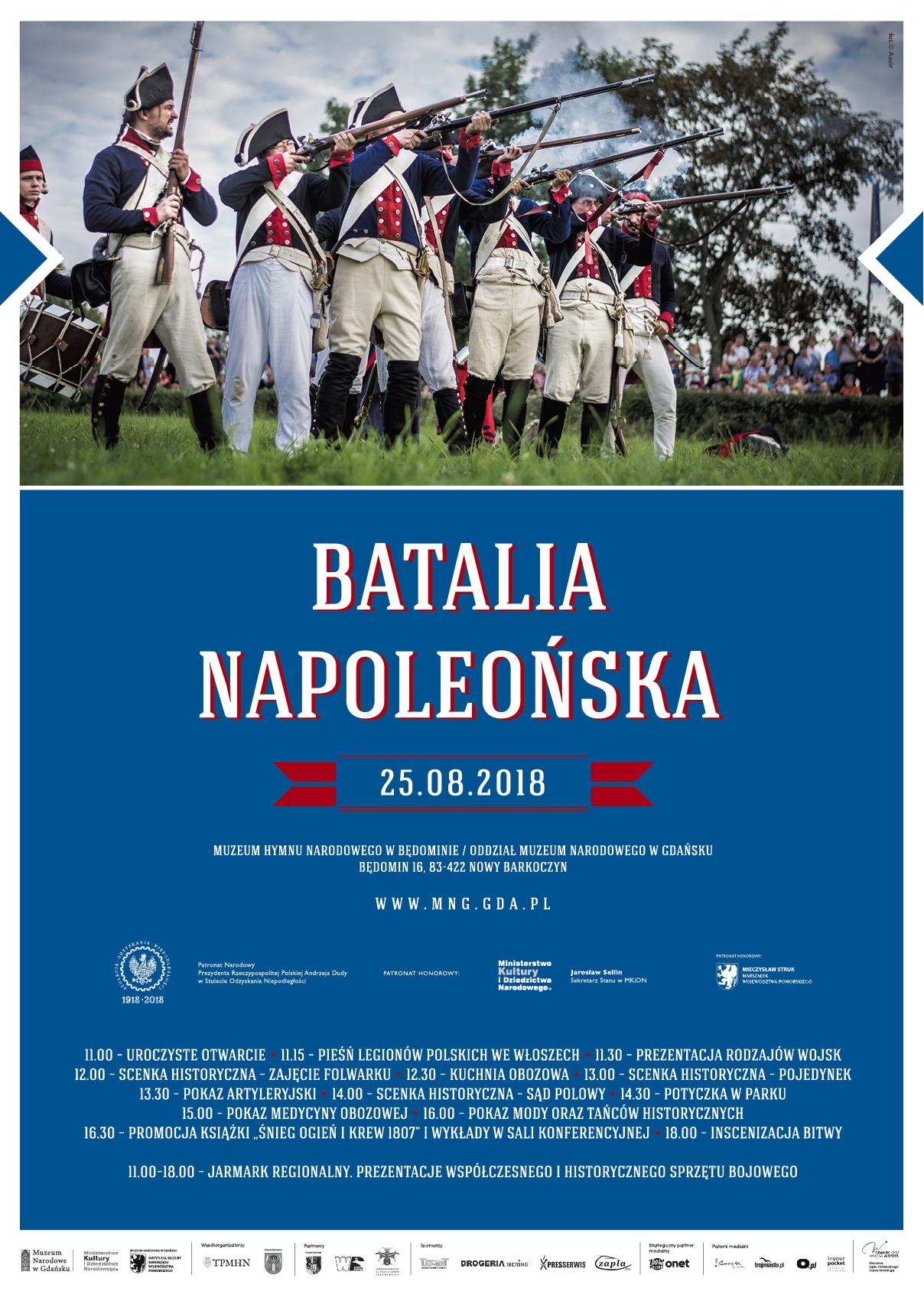 Batalia Napoleońska 2018 - plakat
