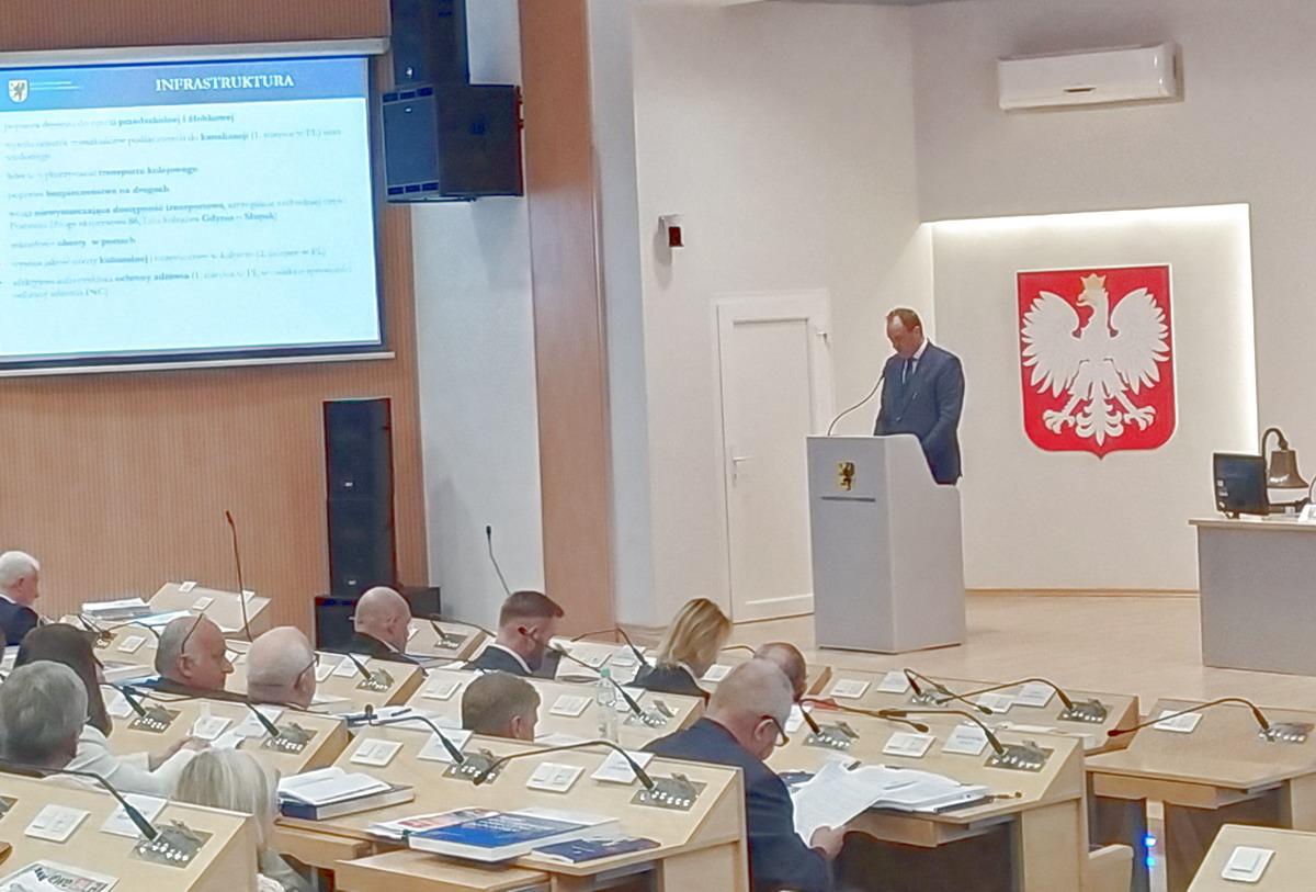 Wotum zaufania dla Zarządu za Raport o stanie województwa pomorskiego w 2018 roku