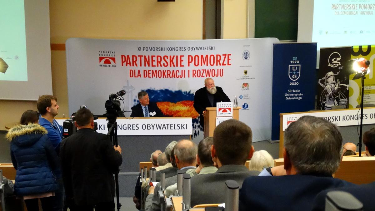 Pomorski Kongres Obywatelski: siedem pomorskich zasad partnerstwa i dyskusje o demokracji