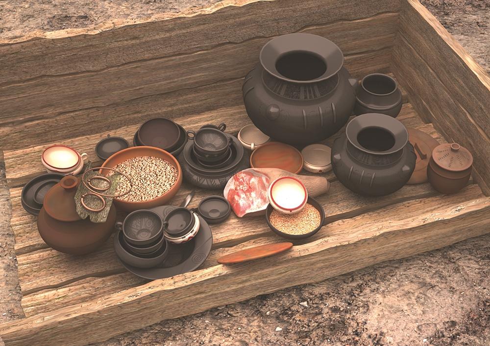 Archeologiczne skarby sprzed naszej ery. Zobacz, co odkryto na prastarym cmentarzysku w Domasławiu