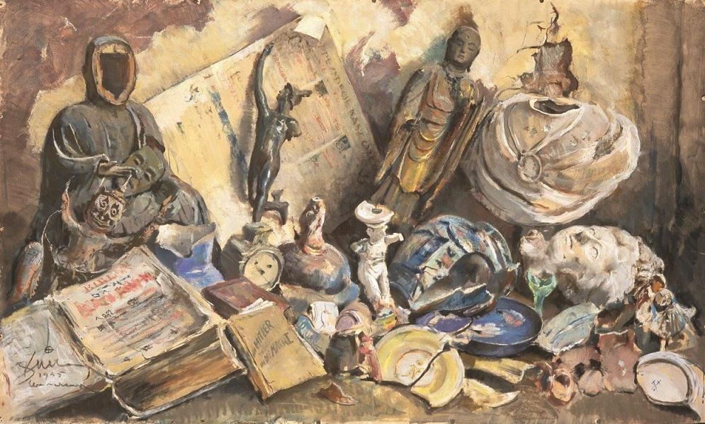 """Malarstwo """"po burzy nad starym światem"""". Zobacz dzieła artystów tworzących po wojnie na Wybrzeżu"""
