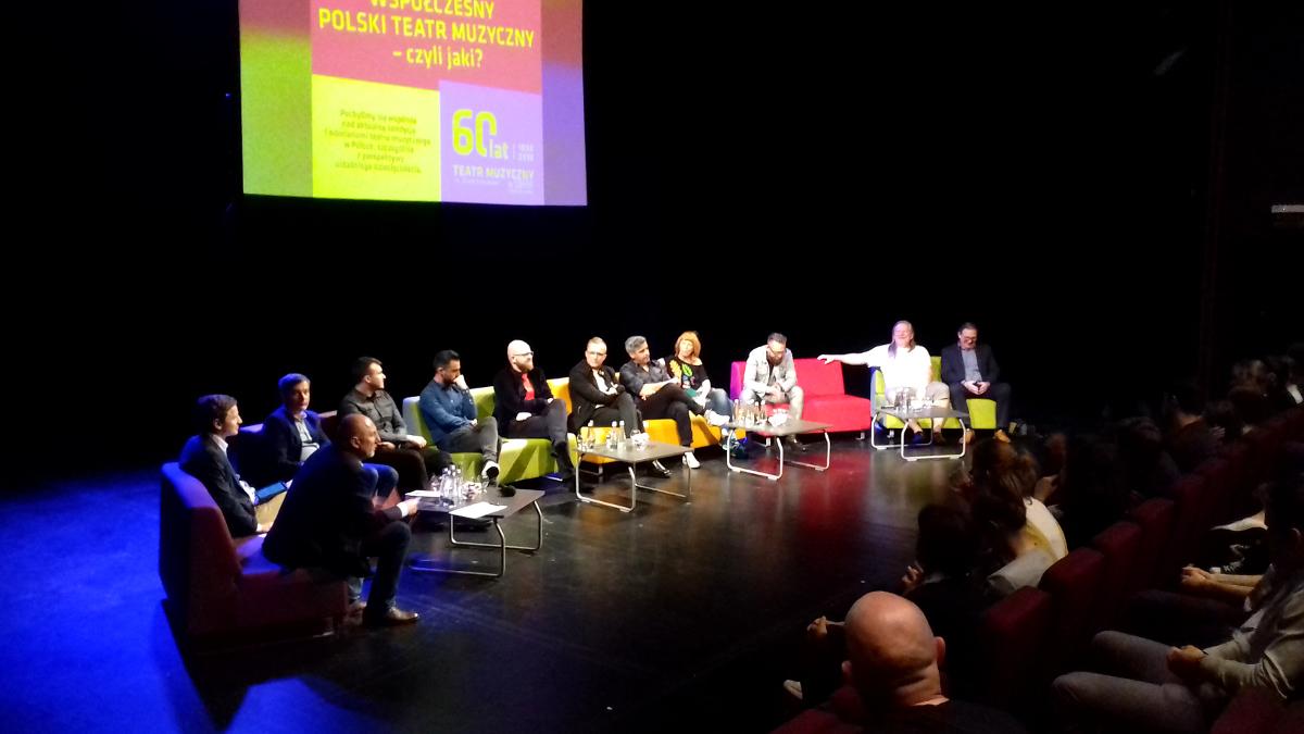 Teatr muzyczny to radość tworzenia? O musicalach, trudnym życiu artystów i dyrektorów rozmawiano w Gdyni