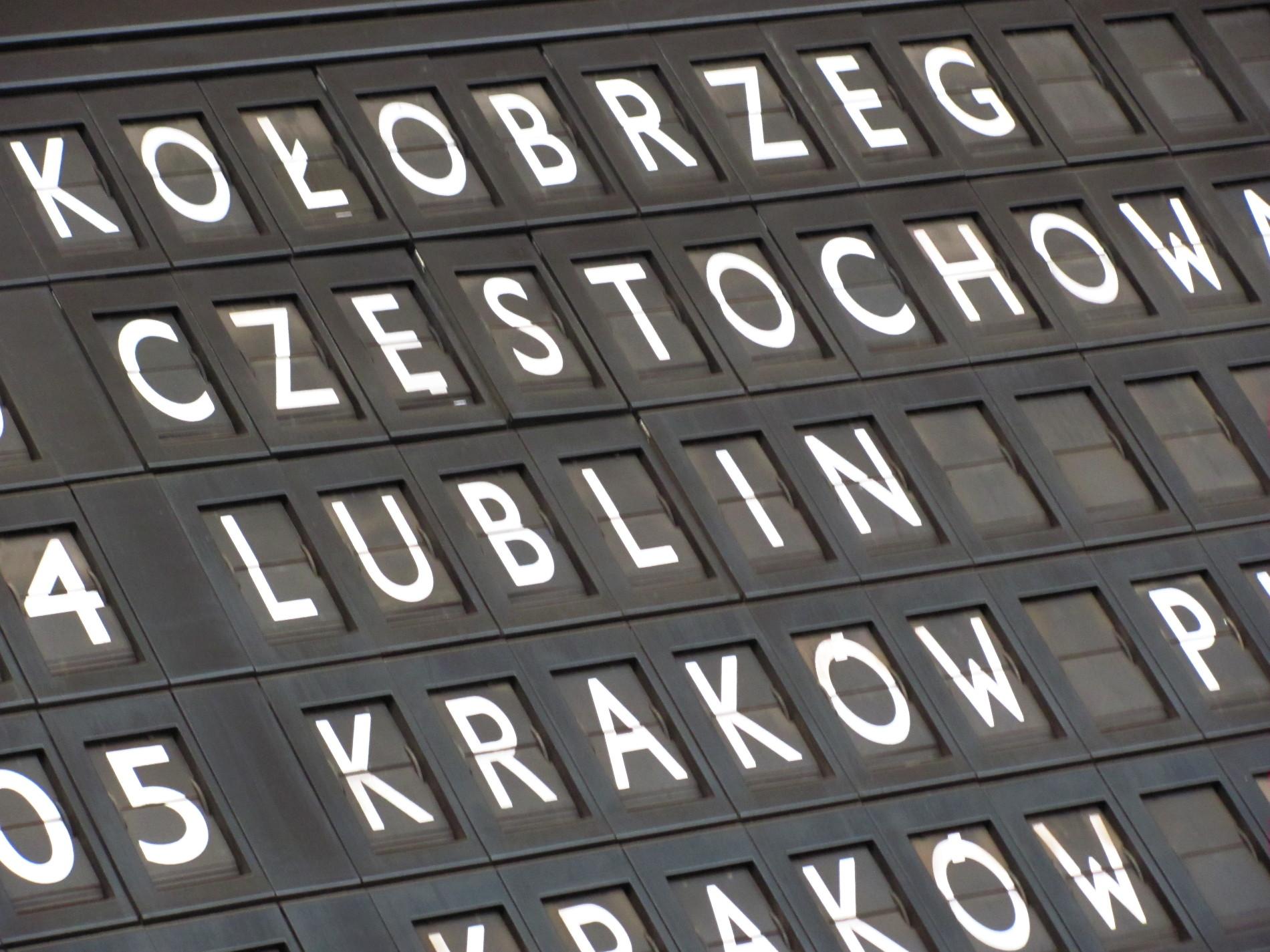 Z Rumi Janowa do Lublina przez Częstochowę. Trzech przewoźników i jeden bilet. Pakiet Podróżnika już w sprzedaży