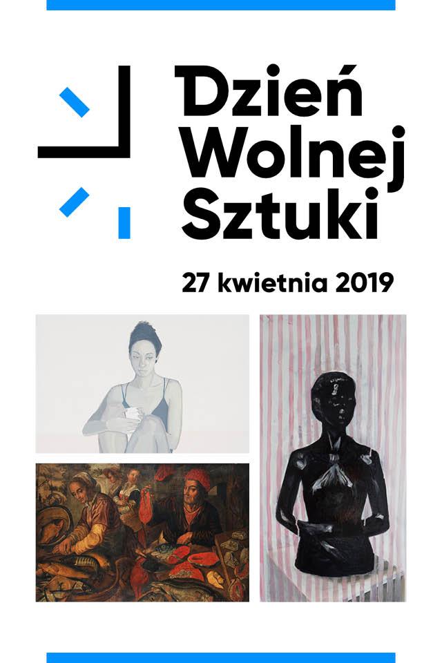 Plakat Dzień Wolnej Sztuki