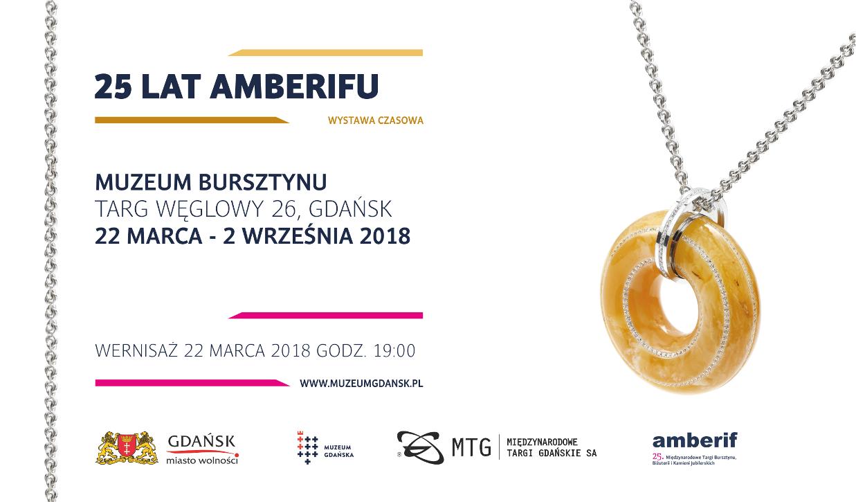 Zaproszenie na wystawę 25 lat Amberifu