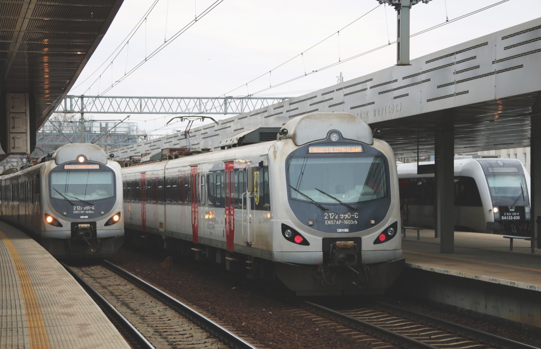 Kilkadziesiąt milionów pasażerów skorzystało z trójmiejskich stacji kolejowych. To drugi wynik w kraju