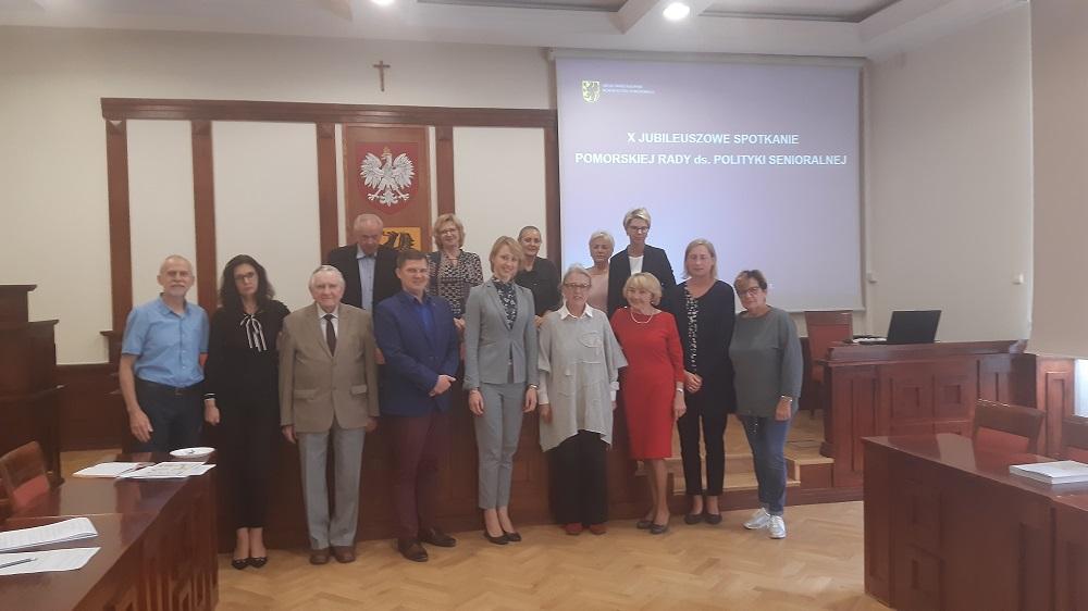 X  Jubileuszowe spotkanie Pomorskiej Rady ds. Polityki Senioralnej