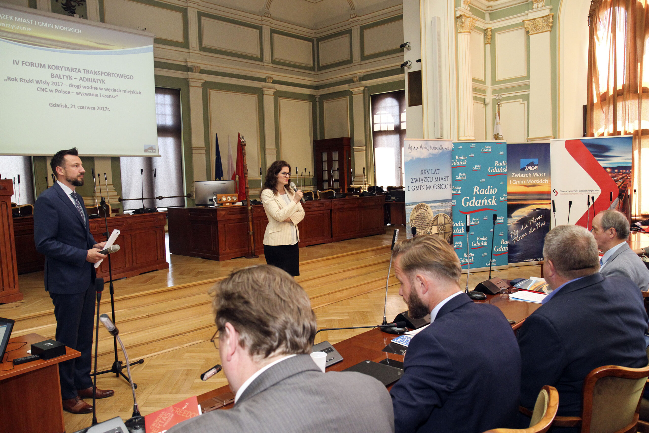 INLAND WATER TRANSPORT AT THE 4TH FORUM ON THE BALTIC-ADRIATIC TRANSPORT CORRIDOR