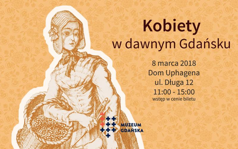 Baner Kobiety w dawnym Gdańsku