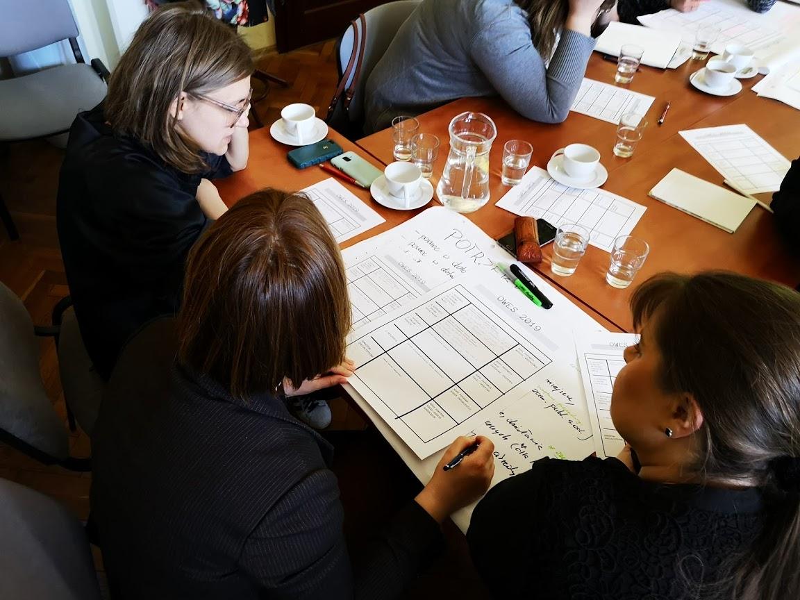 Spotkanie robocze Ośrodków Wsparcia Ekonomii Społecznej [RELACJA, ZDJĘCIA, PREZENTACJA]
