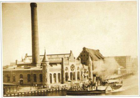 Budynek Polskiej Filharmonii Bałtyckiej-archiwalne foto