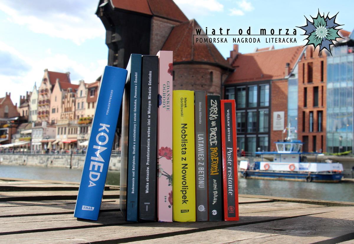 Już jutro poznamy najlepszych pomorskich autorów. We czwartek gala nagrody literackiej Wiatr od Morza