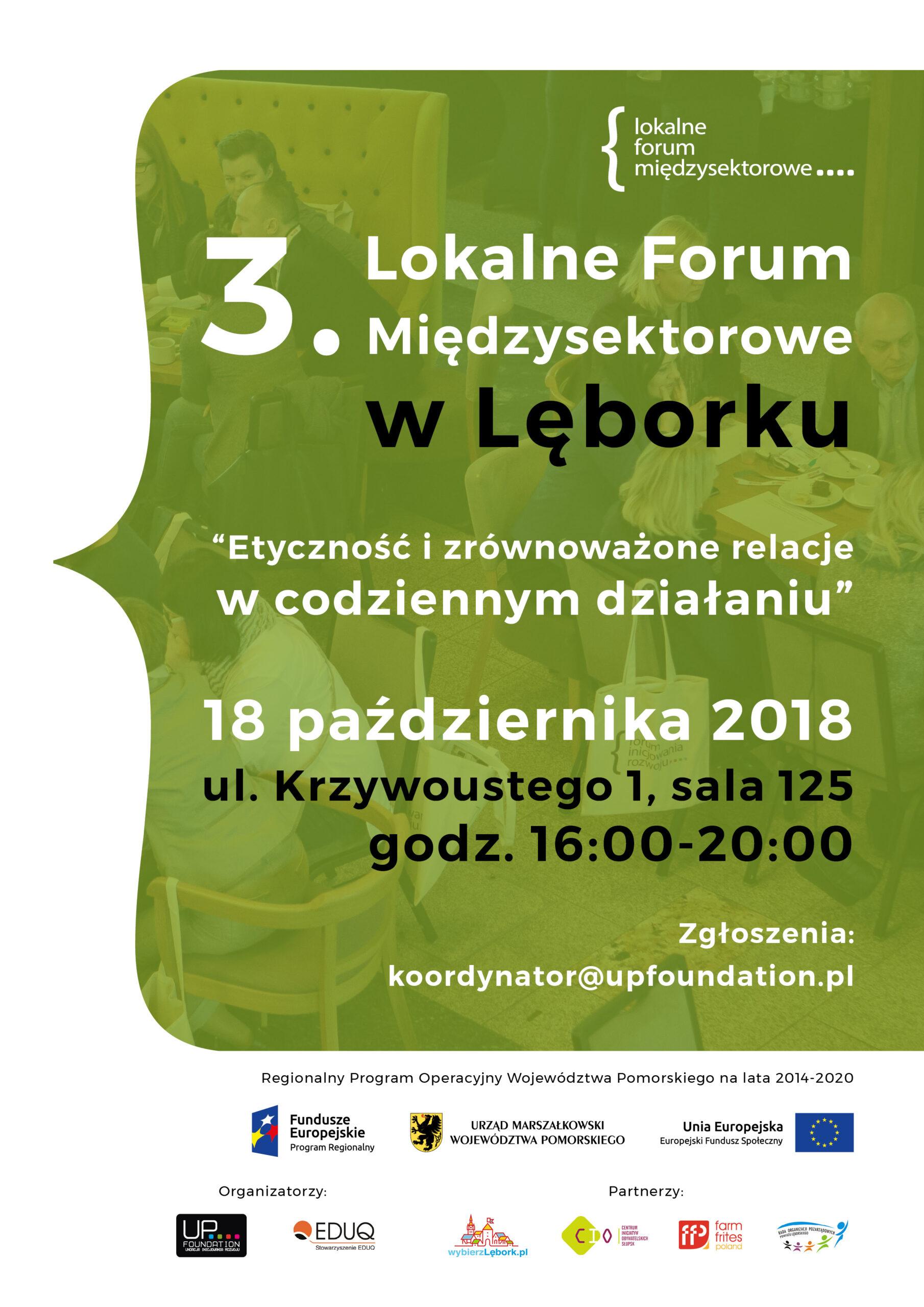 III Lokalne Forum Międzysektorowe w Lęborku