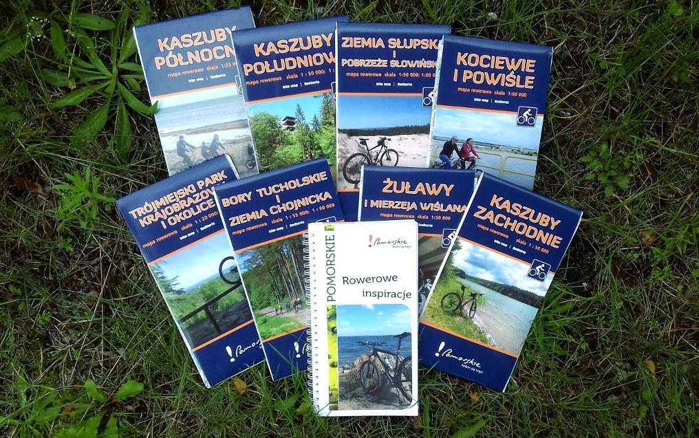 Pomorskie mapy rowerowe z nagrodą Ogólnopolskiego Przeglądu Książki Krajoznawczej i Turystycznej