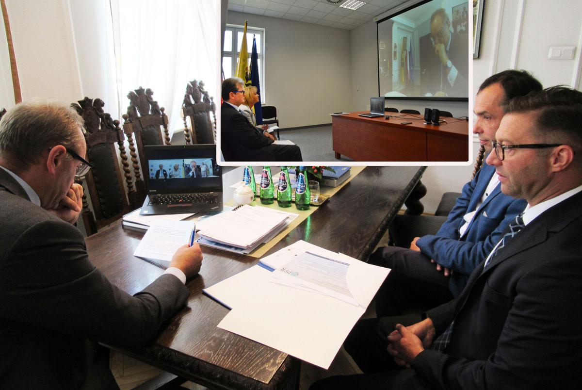 Wirtualne spotkanie dotyczące realnych pieniędzy. Pierwsza umowa o Pożyczkę Miejską podpisana