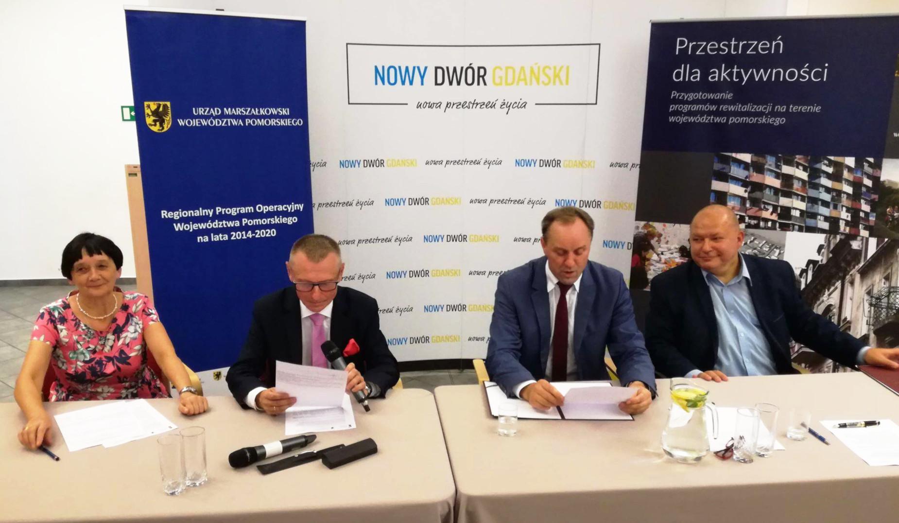 Bulwarem nad Tugą do Centrum Aktywności Lokalnej. Dzięki unijnemu dofinansowaniu dużo zmieni się w Nowym Dworze Gdańskim