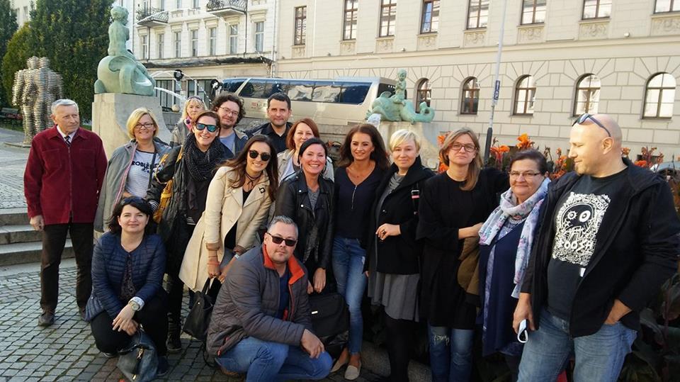 Wizyta studyjna Pomorskiego Komitetu Rozwoju Ekonomii Społecznej w Poznaniu