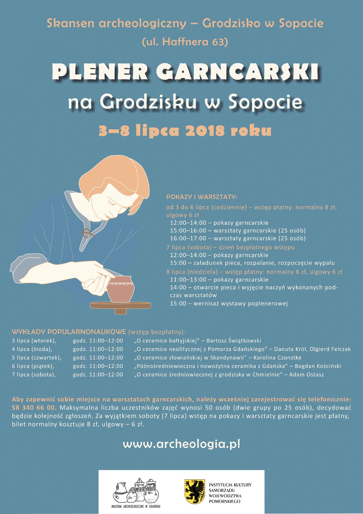 Plener garncarski na Grodzisku w Sopocie