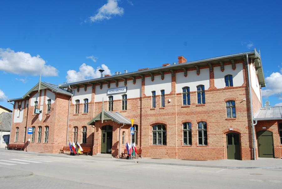 Sukces dworca w Kościerzynie. Został uznany jednym z najbardziej zadbanych zabytków w Polsce